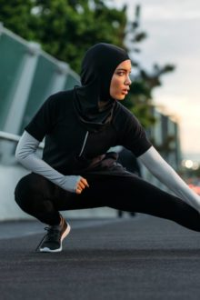hijab exercising
